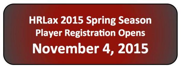 HRLax 2015 Registration